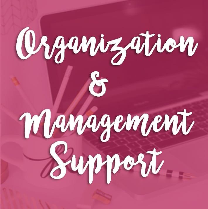 Organization & Management Support
