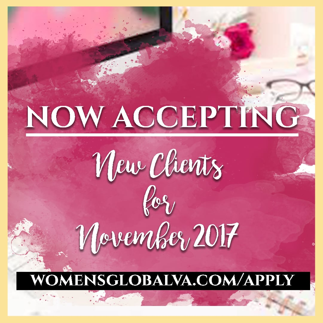 Accepting Clients Apply Today