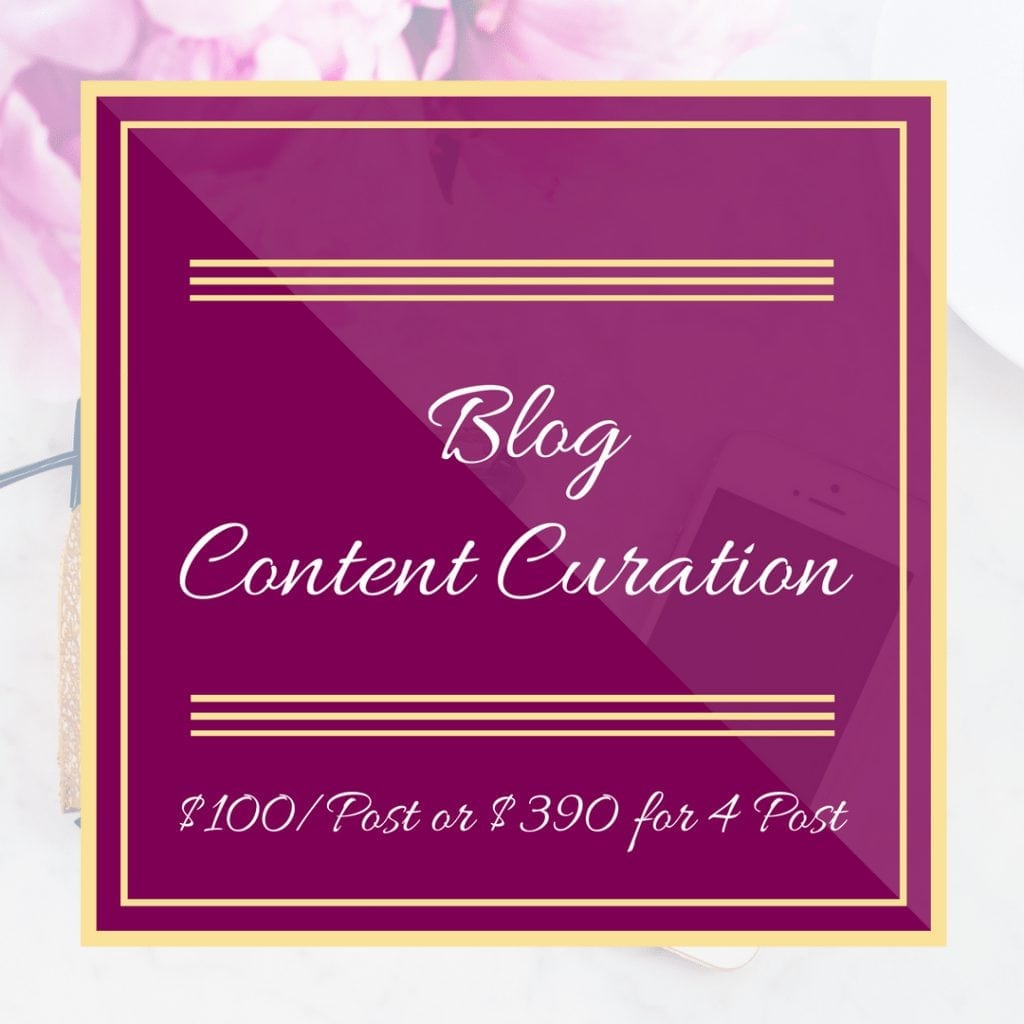 Blog Content Curation