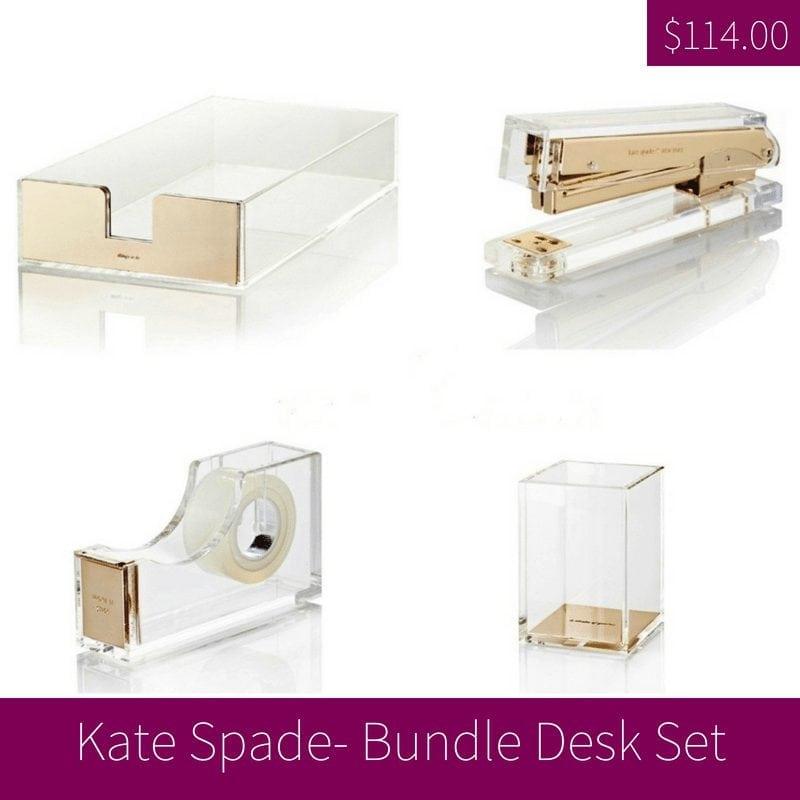 Kate Spade Bundle Desk Set