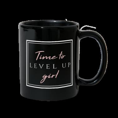 """""""Time to Level Up Girl"""" Mug"""
