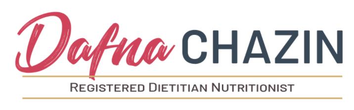 Dafna Chazin Registered Dietitian Nutritionist